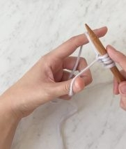 Long Tail Cast On | Purl Soho