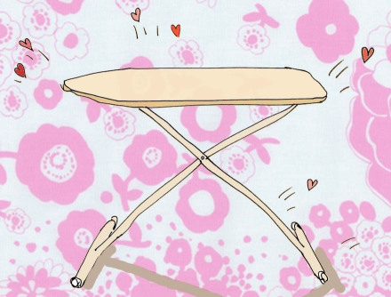 Ironing Board Recovery Project | Purl Soho