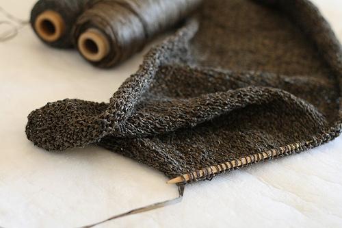 Habu Textiles Kusha Kusha Scarf Purl Soho