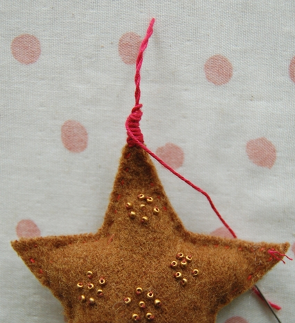 Felted Wool Star Ornaments | Purl Soho