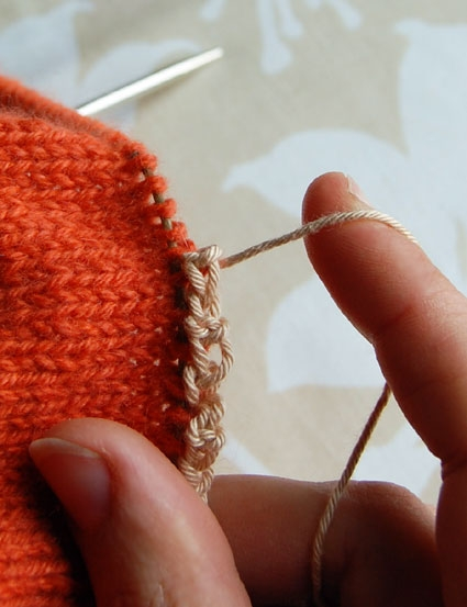 Provisional Cast On: a Two-Step Method | Purl Soho