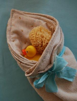 Cozy Hooded Baby Towel | Purl Soho