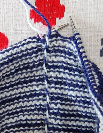 Converting Knitting Pattern To In The Round : Rochefort Chapeau Purl Soho