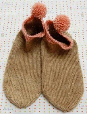 Pom Pom Socklets | Purl Soho