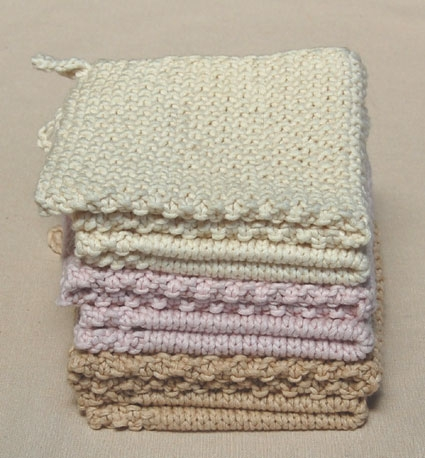 Knitted Dishcloth Patterns Wedding : Knit Dishcloth Patterns - The Wedding Cloths - revizionout