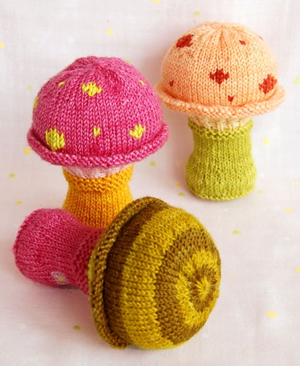 Toadstool Baby Rattle | Purl Soho
