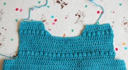 Coco's Bobble Dress | Purl Soho