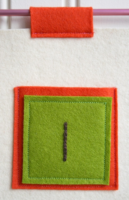 Embroidered Felt Advent Calendar | Purl Soho