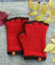 Cashmere Fingerless Gloves | Purl Soho