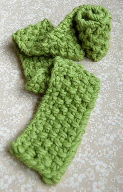 Free Knitting Patterns For Scarves Bulky Yarn : The Eleventh Hour Scarf Purl Soho