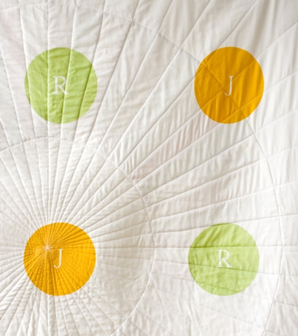 Wedding Wheel Quilt | Purl Soho