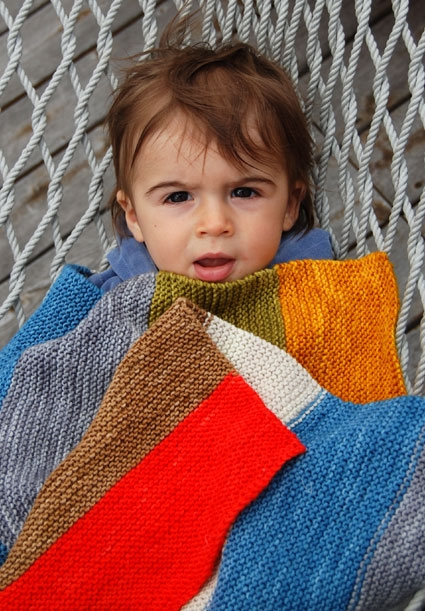 Super Easy Baby Blanket | Purl Soho