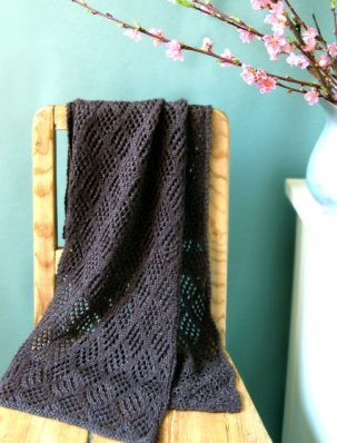 Checkerboard Lace Scarf | Purl Soho