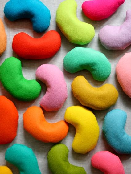 Wool Felt Jelly Beans - Purl Soho