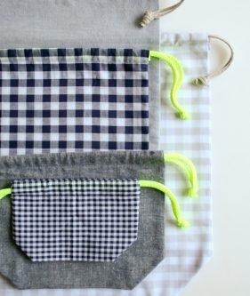 Easy Drawstring Bag | Purl Soho