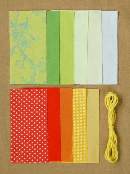 Sunny Tied Quilt | Purl Soho