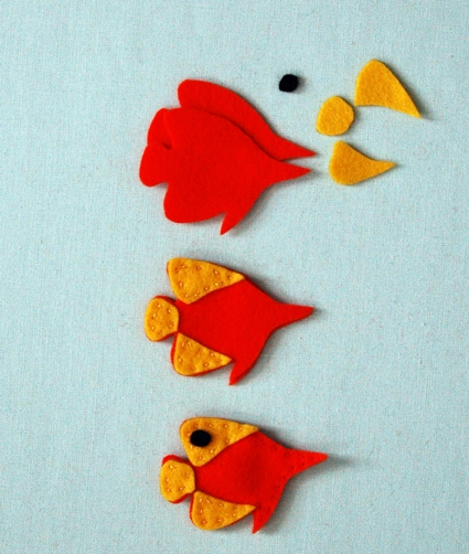 Felt Aquarium Magnets | Purl Soho
