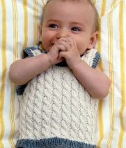 Cabled Baby Vest | Purl Soho