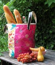 Echino Oilcloth Grocery Tote | Purl Soho