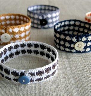 Wren Handmade: Crocheted Bracelets | Purl Soho