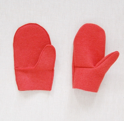 Felt Mittens with Knitted Cuffs | Purl Soho