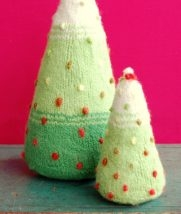 Felted Christmas Trees | Purl Soho