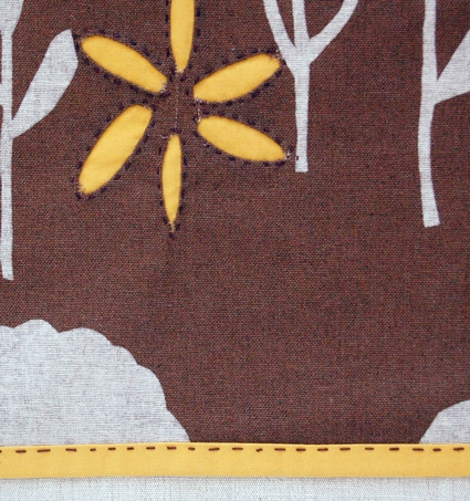 Reverse Applique Thanksgiving Placemats | Purl Soho