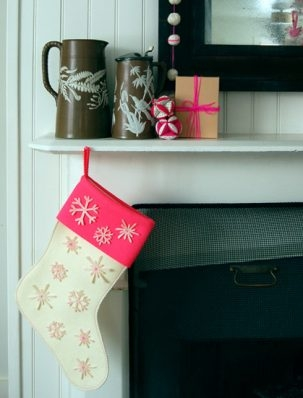 Super Easy Snowflake Stocking | Purl Soho
