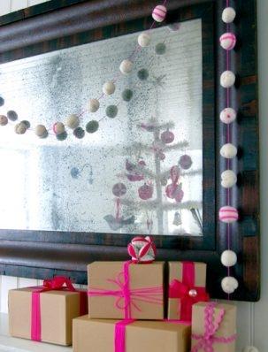 Festive Felted Garland | Purl Soho