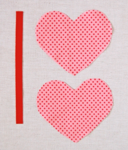 Heart-Shaped Zippered Pouches | Purl Soho
