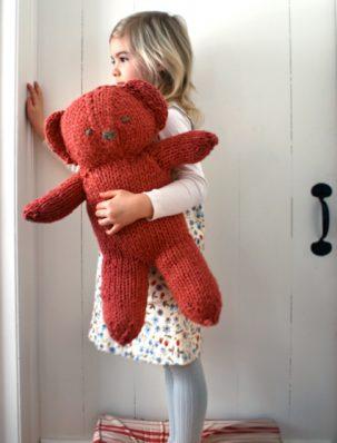 Big Red Bobbi Bear | Purl Soho