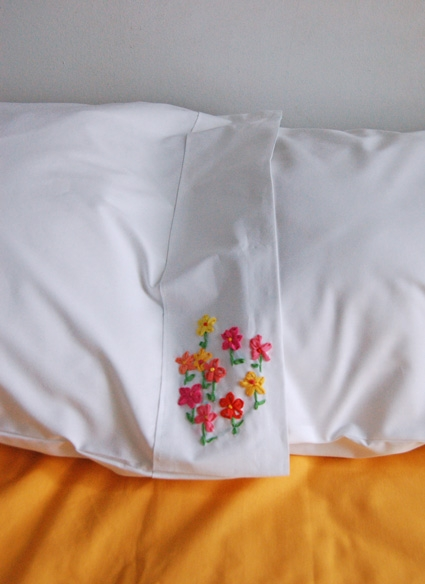 Ribbon Embroidery Pillow Cases | Purl Soho