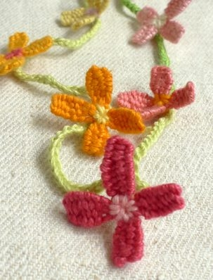 Woven Flower Necklace | Purl Soho