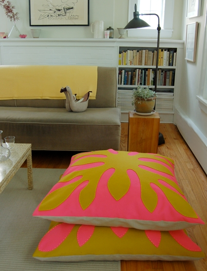 Hawaiian Style Felt Floor Pillows   Purl Soho