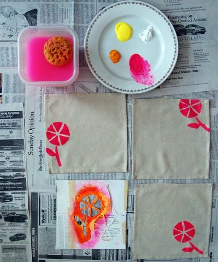 Lotta Jansdotter Printed Cocktail Napkins | Purl Soho