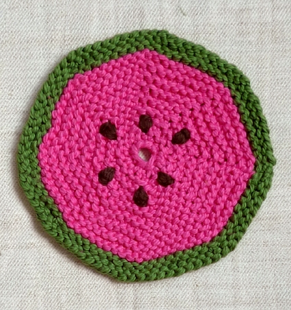 Fruity Trivets + Pot Holders, the Knitted Version! | Purl Soho