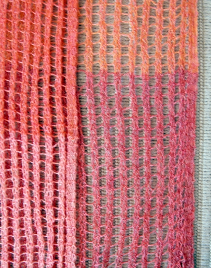 Color Change Scarf Purl Soho