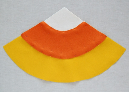 Candy Corn Trick or Treat Bags | Purl Soho