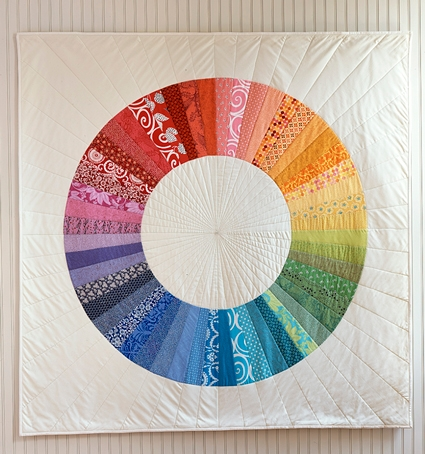 NEW! Purl Color Wheel Quilt Custom Fabric Bundle! | Purl Soho