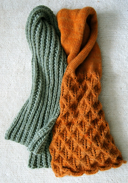 Lovely Leaf Lace Scarf | Purl Soho