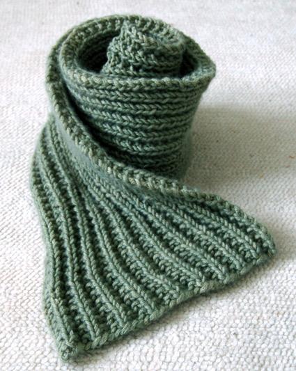 Knitting Pattern Mistake Rib Scarf : Easy Mistake Stitch Scarf Purl Soho