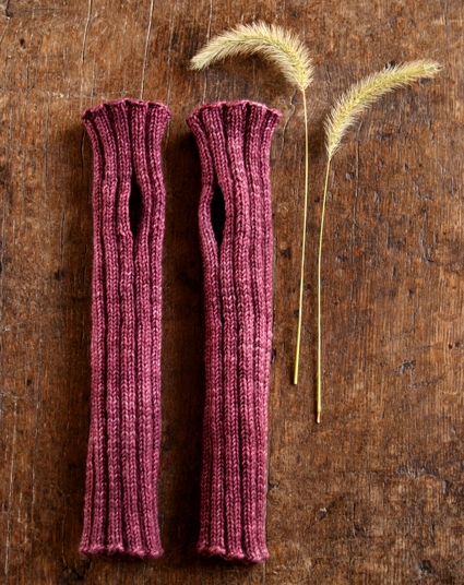 Ribbed Hand Warmers | Purl Soho