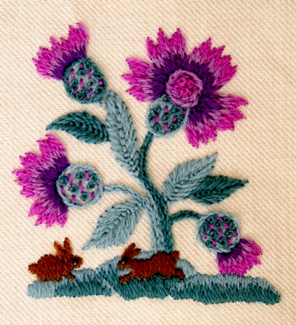 Beautiful Crewel Kits Purl Soho Adorable Crewel Embroidery Patterns