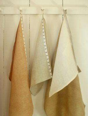 Linen and Measuring Tape Twill Dishtowels | Purl Soho