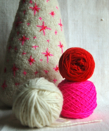 New Felted Christmas Trees! | Purl Soho