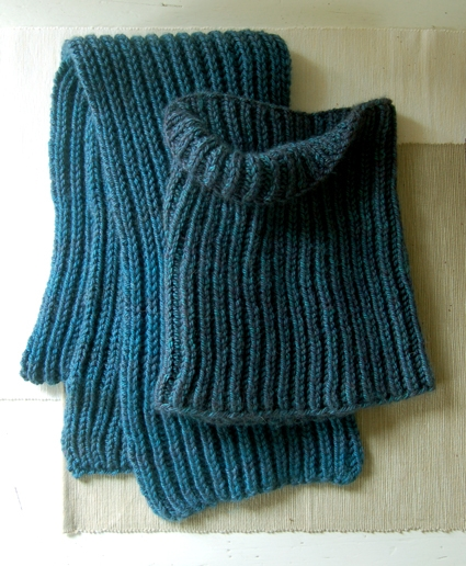 Fisherman's Rib Scarf and Cowl | Purl Soho