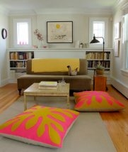 Hawaiian Style Felt Floor Pillows | Purl Soho