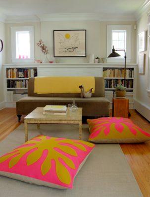 Hawaiian Style Felt Floor Pillows | Purl Soho