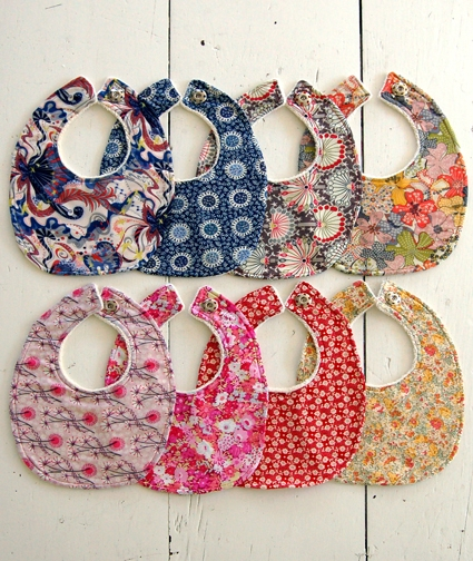 Liberty Baby Bib Kits: Back in Stock + Three More Colorways! | Purl Soho