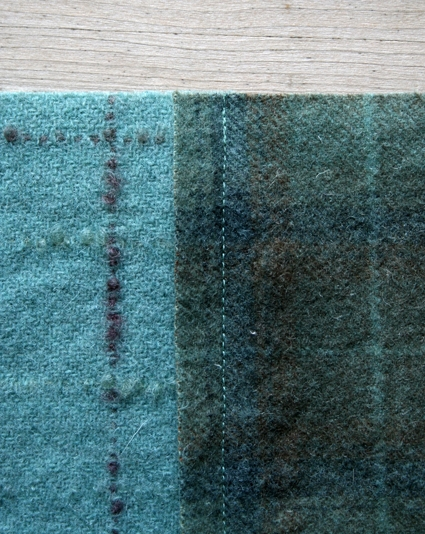 Mary Flanagan Felted Wool Patchwork Quillow | Purl Soho